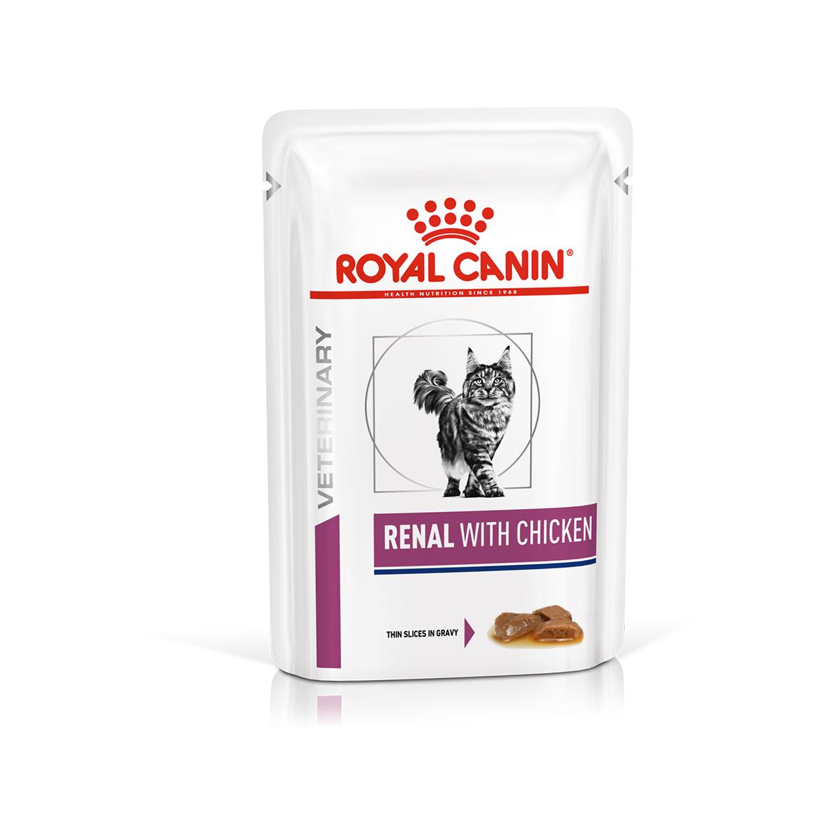 RC диета дк конс. ву 85гр Фелин Ренал с цыпленком 0465