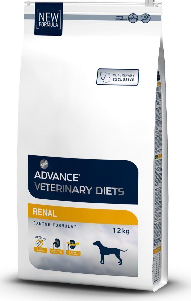 Advance корм для взрослых собак всех пород при паталогии почек 12 кг