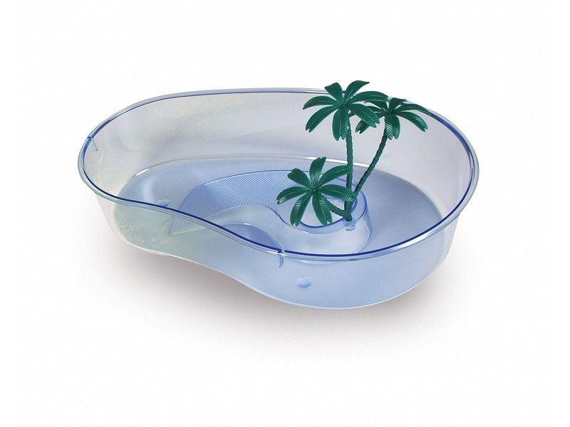 Пластиковая чаша для черепах MP-Bergamo CAPRI MAXI (40*28*9.5cм) 1/8
