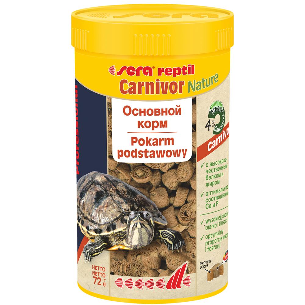 Carnivor 250мл. корм дпресноводных черепах и плотоядных рептилий. 112