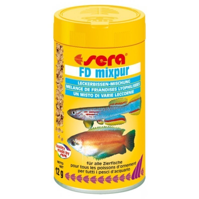 Sera корм для плотоядных рыб 12 г