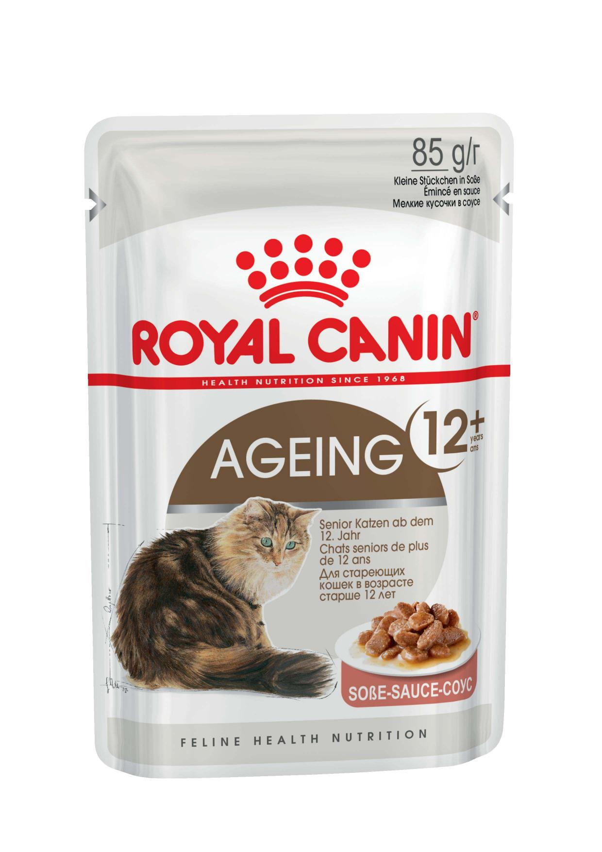 Royal Canin паучи RC Кусочки в соусе для кошек старше 12лет (Ageing+12) 488001, 0,085 кг, 22364