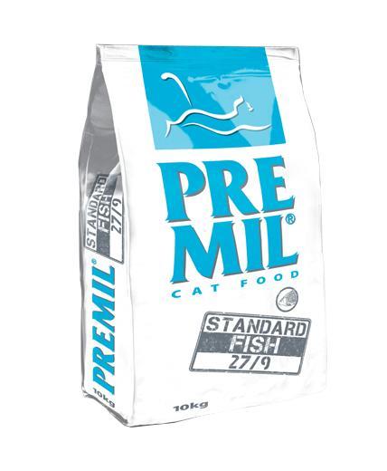 Premil Корм для кошек ПРЕМИУМ STANDART FISH (СТАНДАРТ ФИШ) 27/9 10 кг, 8600103397049