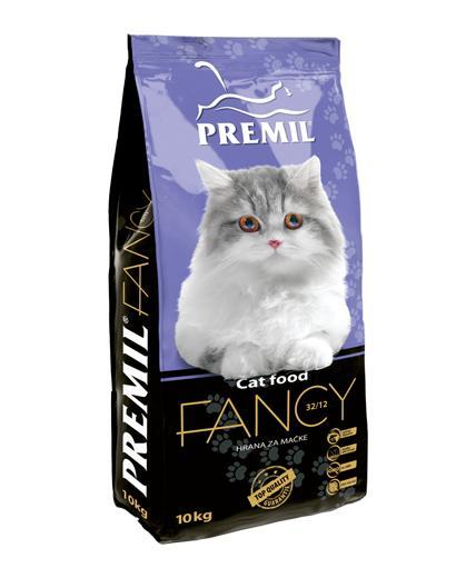 Premil Корм для кошек СУПЕРПРЕМИУМ FANCY (ФЭНСИ) 32/12 10 кг, 8600103397216
