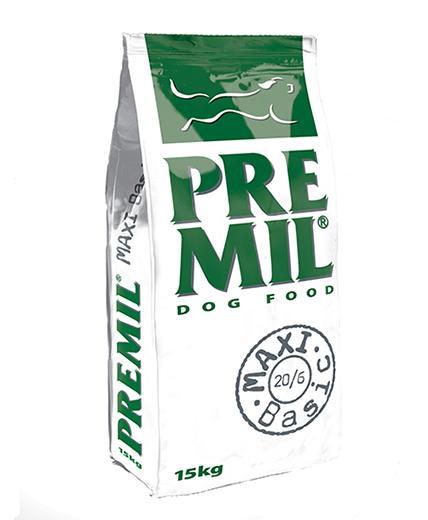 Premil Корм для собак ПРЕМИУМ MAXI BASIC (МАКСИ БАЗИК) 20/6 1 кг, 8600103397759