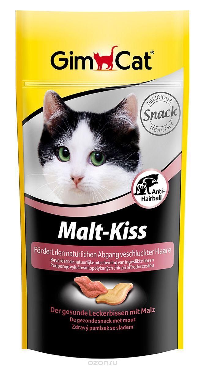 Gimcat Малт-Кисс с ТГОС д/кошек, 40 г, 417301